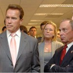 Schwarzenegger and Bloomberg Meet to Talk About the Environment