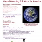 Focus the Nation: Global Warming Teach-In