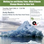 Upcoming Event: An Evening With Andrew Revkin, Science Writer for The New York Times