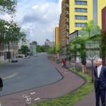 TIGER II Funds Transit Construction, Highway Destruction