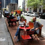 Curbside Cafés Popping Up in New York