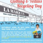 Calling all Harlem Residents! Bring Your Used Clothing: Get a Light Bulb